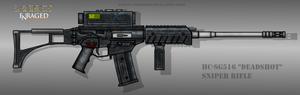 Fictional Firearm: HC-SG516 Sniper Rifle