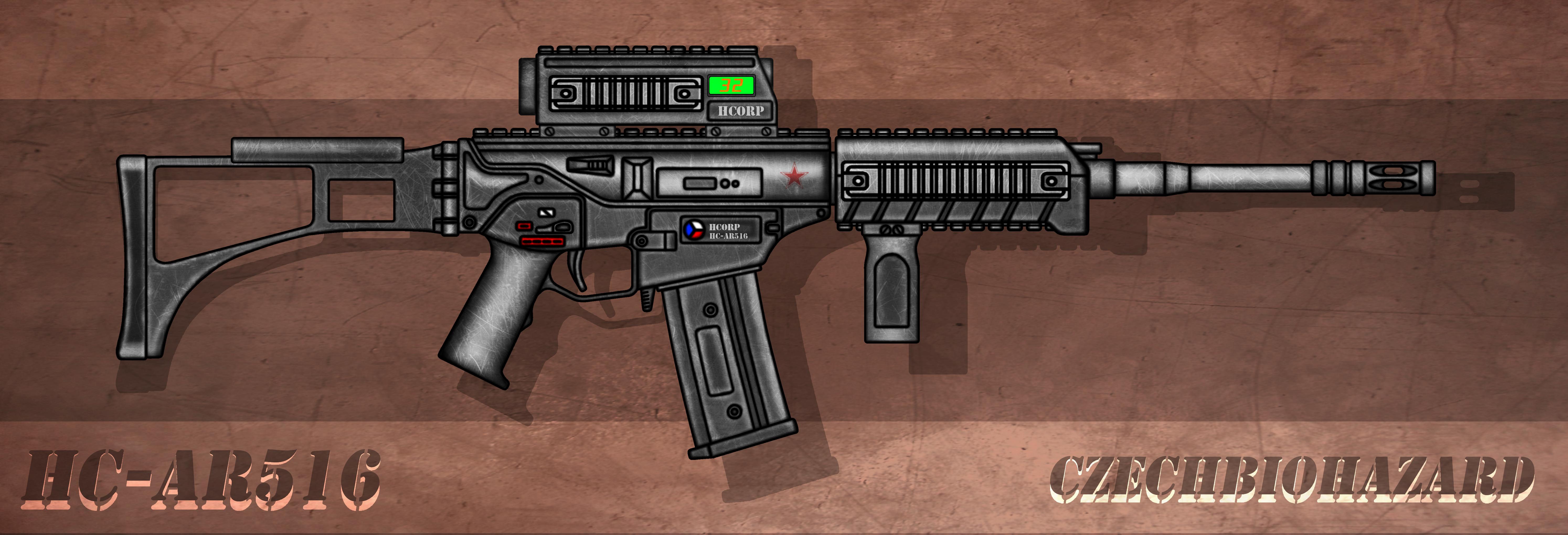 HC-AR516 Assault Rifle by CzechBiohazard
