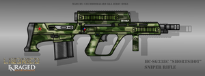 Fictional Firearm: HC-SG338c Sniper Rifle