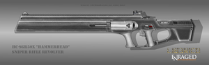 Fictional Firearm: HC-SGR50x Sniper Rifle