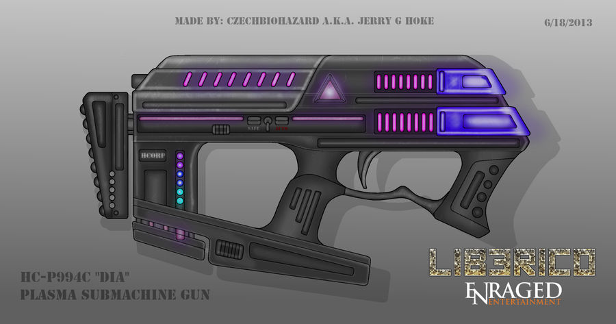 Fictional Firearm: HC-P994C [DIA] Plasma SMG
