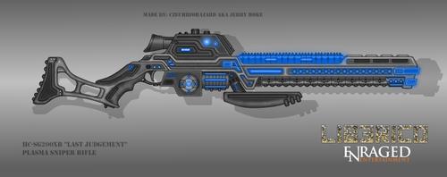 Fictional Firearm: HC-SG200XR Plasma Sniper Rifle by CzechBiohazard