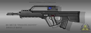 Fictional Firearm: HC-AR77B Assault Rifle