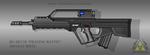 Fictional Firearm: HC-AR77B Assault Rifle by CzechBiohazard