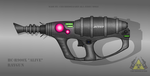 Fictional Firearm: HC-R900X [Alive] Raygun by CzechBiohazard