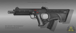 Fictional Firearm: HC-SG96W Submachine Gun by CzechBiohazard