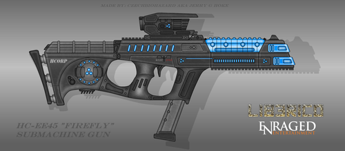 Fictional Firearm: HC-EE45 Firefly Plasma SMG