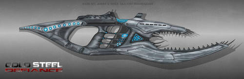 Cold Steel Defiance Alien weapon