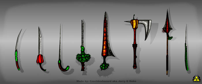 VT: Vegetable Sword Concepts