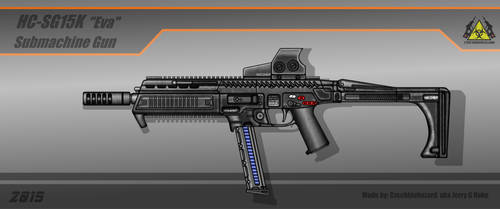Fictional Firearm: HC-SG15K [Eva] SMG
