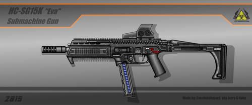 Fictional Firearm: HC-SG15K [Eva] SMG by CzechBiohazard