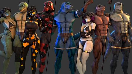 Lizard models Release! (SFM)