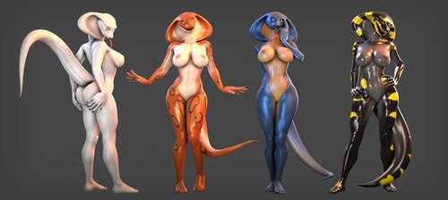 Cobra showcase -nude- by petruz3D