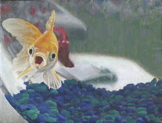 Realistic Fish Painting