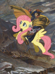 Bronyparte Crossing the Alps