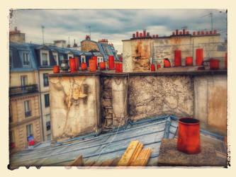 Toit De Paris by axilien