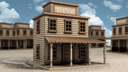 Bank - Western style by spyrous13