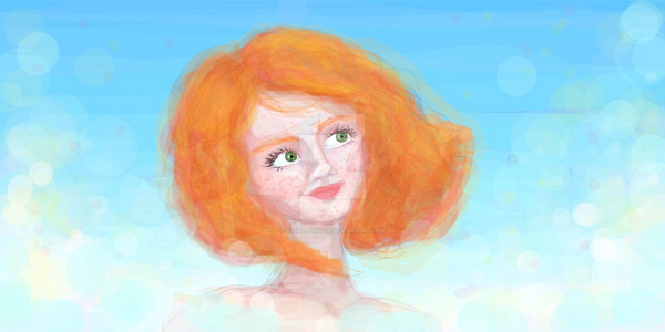Spring Girl by Scarletinblue