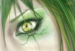 + In my eye + by Claire-Sinturel