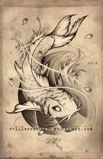 Carpe Koi by Claire-Sinturel