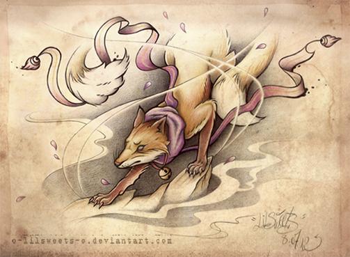 Kitsune by o-LilSweets-o