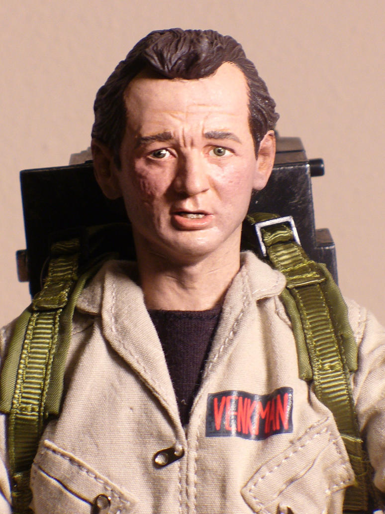 Bill Murray Headsculpt 1:6 scl by scottstoybox
