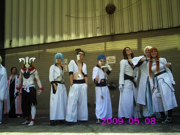 Espadas Ichigo, and Orhime by lovelylei