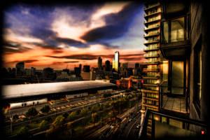 Melbourne by JTalon