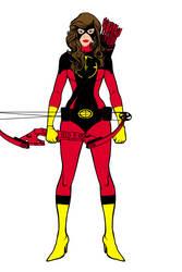 Red Olympian By Azurevirgo