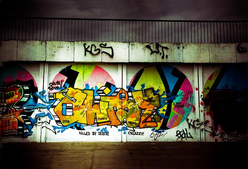 Graffiti by aaaaaight