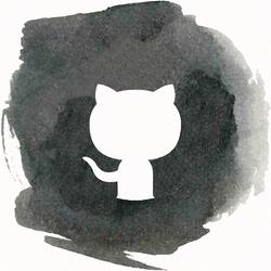 GitHub watercolor Icon by YayksLixz