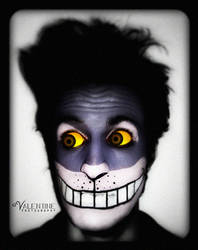 Make-up: 'The Cheshire Cat' by aValentine