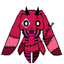 Evil doll monster pet Adoptable OPEN by AS-Adoptables