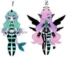 monster girls adoptables Closed