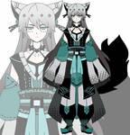 samurai kemonomimi adoptable CLOSED