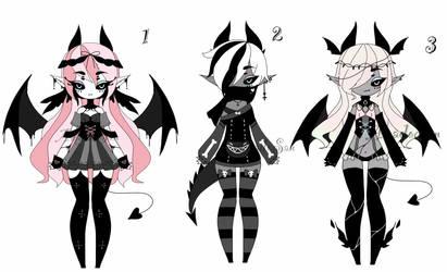 demon girl adoptables closed