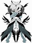 Monochromatic spirit adoptable CLOSED #6
