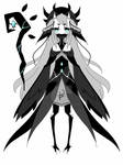 monochromatic witch adoptable CLOSED