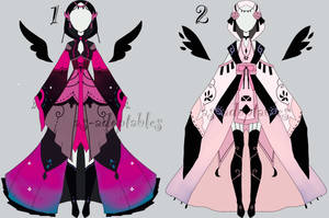 princess outfits adoptables CLOSED by AS-Adoptables