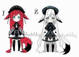 kemonomimi adoptable bacth CLOSED by AS-Adoptables