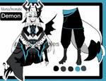 monochromatic demon adoptable CLOSED