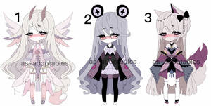 kemonomimi adoptable batch   CLOSED