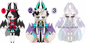 kitsune adoptable batch open 1/3