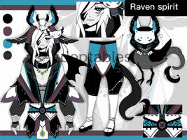 RAVEN shinigami spirit adoptable  CLOSED by AS-Adoptables