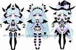 pastel goth demon adoptables CLOSED