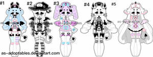 nurse demon adoptables closed by AS-Adoptables