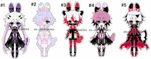 Sychobunn adoptable BATCH OPEN 1/5