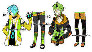 Punk boy adoptable batch  closed by AS-Adoptables