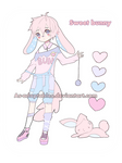 sweet bunny boy adoptable CLOSED
