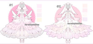 Angelic outfit adoptables open by AS-Adoptables